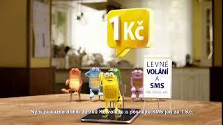 SAZKAMobil: Levné volání a SMS do všech sítí