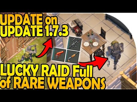 UPDATE on UPDATE 1.7.3 - LUCKY RAID Full of RARE WEAPONS - Last Day On Earth Survival 1.7.2 Update