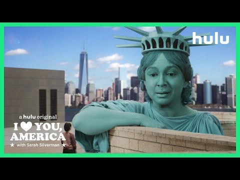 Sarah Meets Lady Liberty | I Love You, America on Hulu