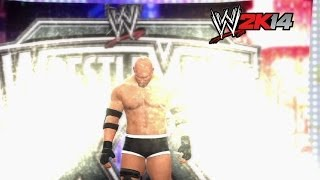 """WWE 2K14"" How-To: Brock Lesnar vs. Bill Goldberg at WrestleMania 20"