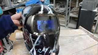 How to use an Auto-Darkening welding helmet