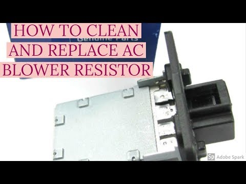 HOW TO CLEAN AC/HEATER RESISTOR AND EVAPORATOR CLEANING FOR HYUNDAI EON