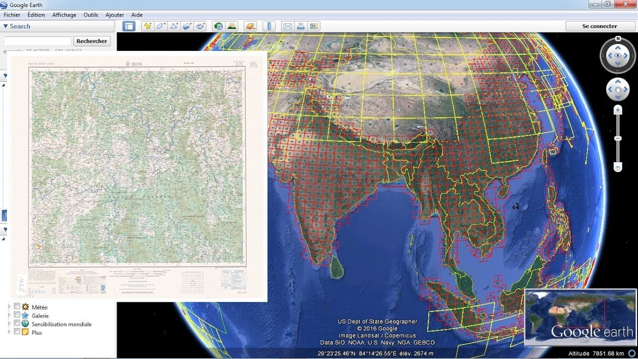 Download Topographic Maps From Google Earth Youtube