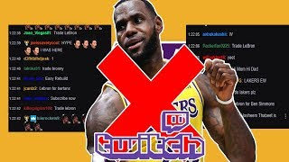 Twitch Chat Tries To Rebuild The Los Angeles Lakers