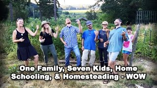 Permaculture Tip of the Day - One Family, Seven Kids, & Homesteading & Home Schooling