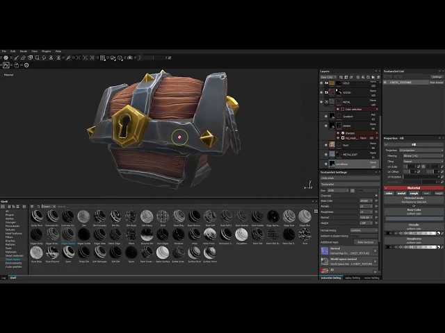 01 Stylised Texturing in Substance Painter: introduction