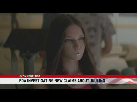 7OYS: FDA investigates new claims of 'Juuling'