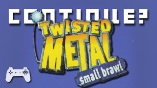 Twisted Metal: Small Brawl (PS) - Continue?