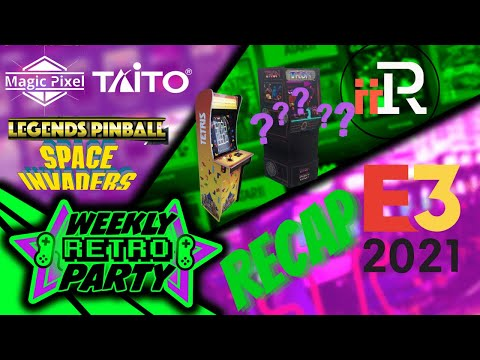 WRP: AtGames, iiRcade and Arcade1up all made noise this E3 but who won. from Rainwater Games