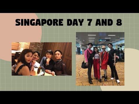 Last Day in Singapore! + Day 7 & 8 !!! // Sean Calamba