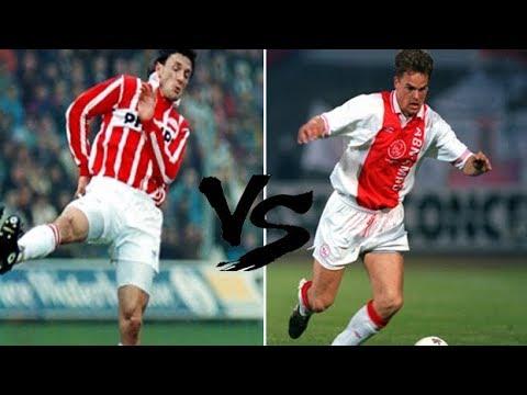 Georghe Popescu VS Frank de Boer (PSV X AJAX 1991)