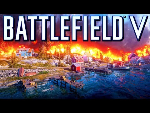 Battlefield 5 Firestorm! TheBrokenMachine's Chillstream 60 fps multiplayer Gameplay thumbnail
