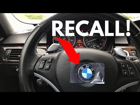 BMW Takata Airbag RECALL FINAL Notice!