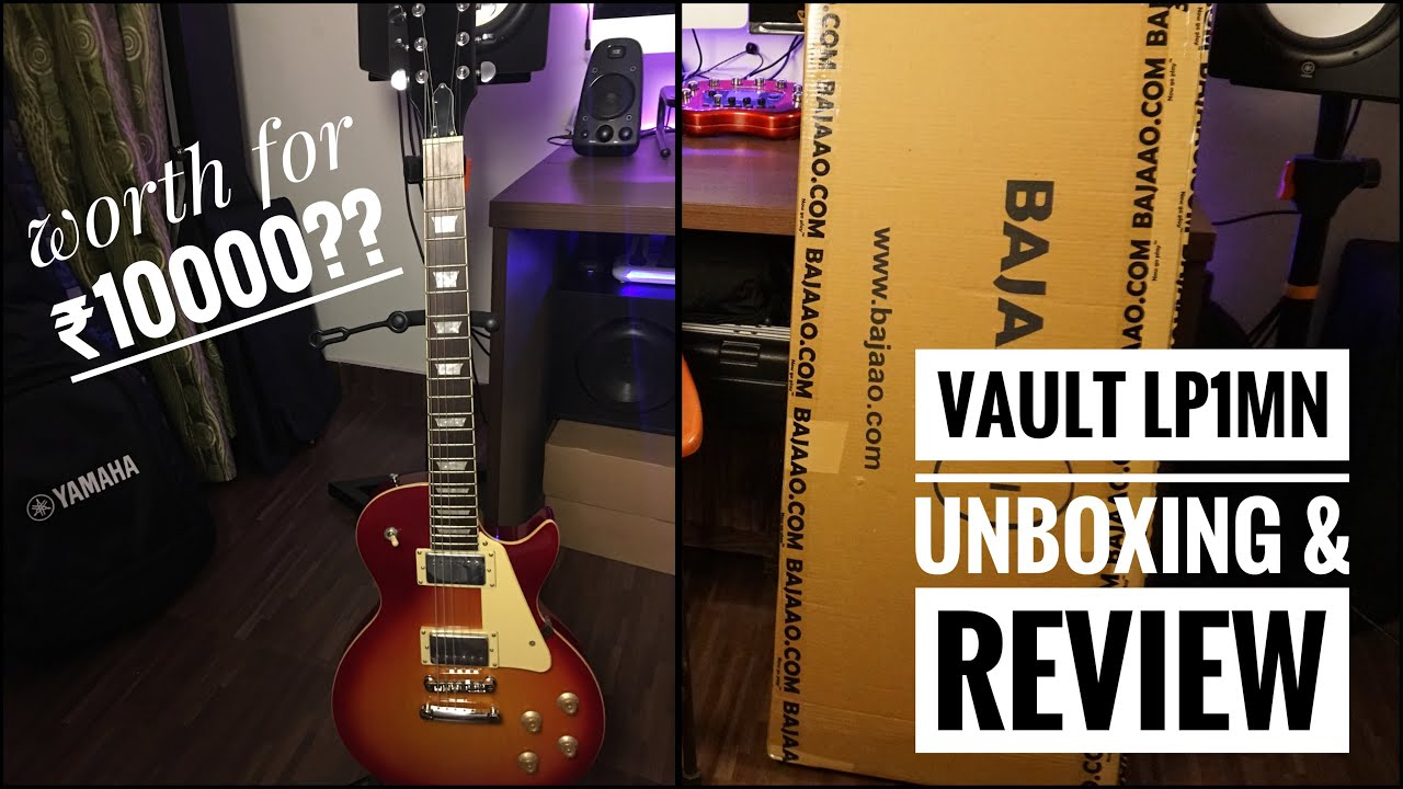 vault lp1 mn unboxing review and sound test best electric guitar for beginners youtube. Black Bedroom Furniture Sets. Home Design Ideas