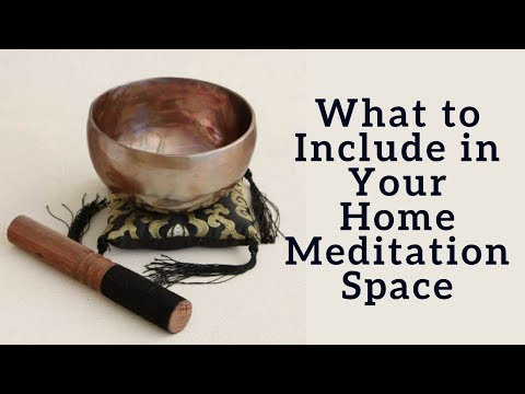What to Include in Your Home Meditation Space