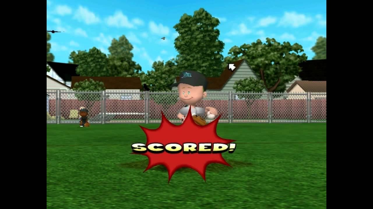 backyard baseball 2005 lets play vs rays its back youtube