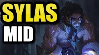 SYLAS MID GAMEPLAY! FULL GAMEPLAY with the NEW CHAMPION!