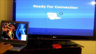 STREAM PC OR LAPTOP WIRELESS TO TV IN 1080P