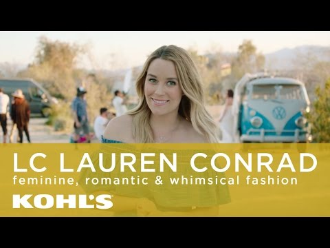 Behind the Scenes at the LC Lauren Conrad Festival Collection Photo Shoot | Kohl's