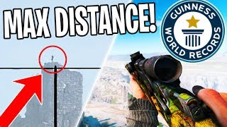 BREAKING *WORLD RECORDS* in Battlefield 5 (800+ m snipe)