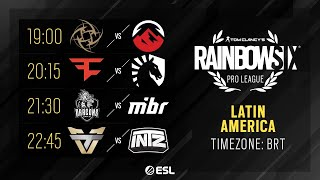 Rainbow Six Pro League - LATAM - Season XI - Playday #7