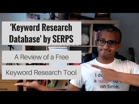 'Keyword Research Database' Review   An Alternative Keyword Research Tool