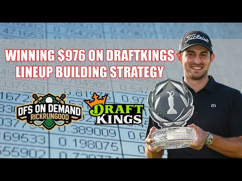 Winning $976 On DraftKings | Lineup Building Strategy - Core Cascading