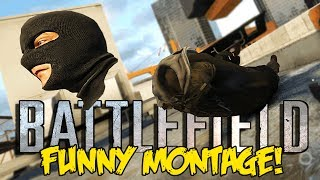 battlefield hardline funny montage funny neck glitch trapping snipers more bfh funny moments