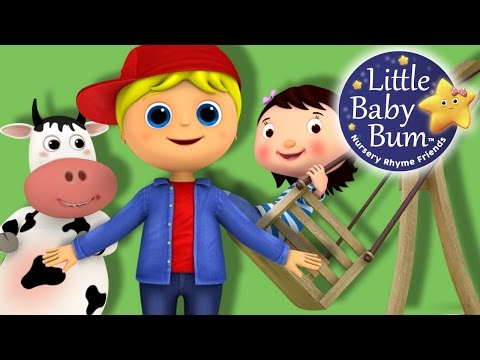 Georgie Porgie | Nursery Rhymes | By LittleBabyBum!