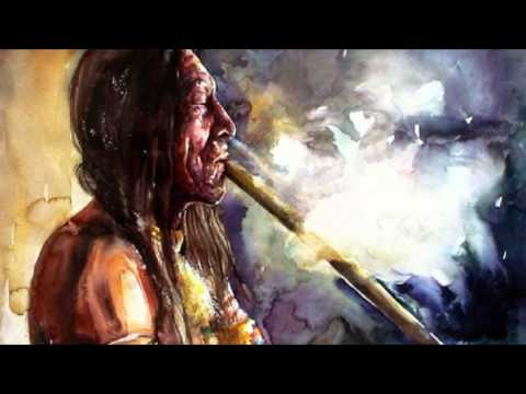 The use of pipe as a native american ritual