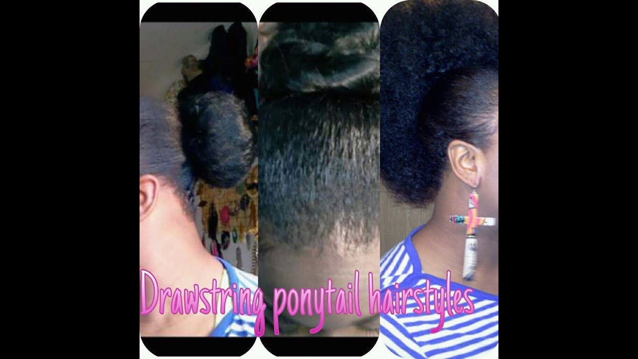 4 different hairstyles using drawstring ponytail youtube 4 different hairstyles using drawstring ponytail solutioingenieria