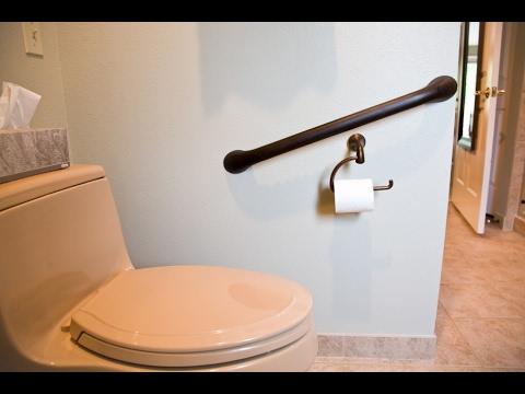 Wonderful Bathroom Grab Bars Ideas, Grab Bars For The Bathroom Near Toilet And Shower