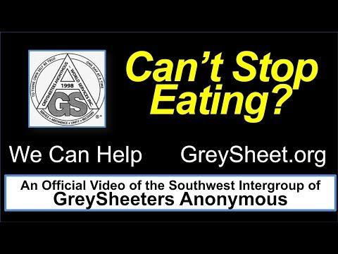 GreySheeters Anonymous Speaker — Celebrating 36 Years of Greysheet Abstinence