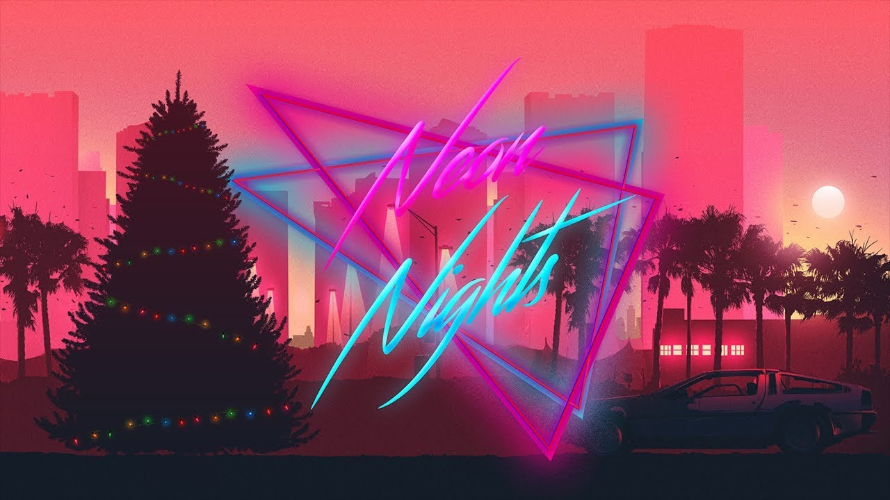 Happy Synthmas!! Special Synthwave, retrowave, darksynth, outrun  livestream!!