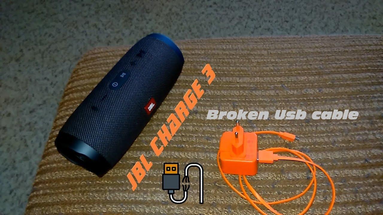 JBL Charge 3 - Problem Charging