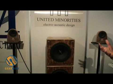 AES Vienna Video: United Minorities Ginko Studio Monitors