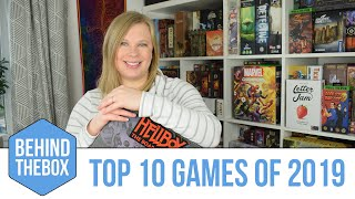 Top 10 Board Games of 2019 - Behind the Box