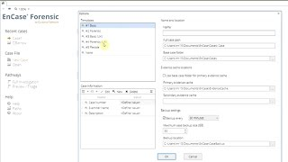 EnCase Tutorial Basics 1 - New interface of v8