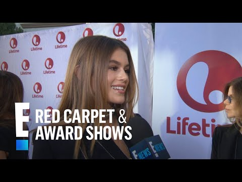 Cindy Crawford's Daughter Kaia Gerber Talks Acting Debut | E! Live from the Red Carpet