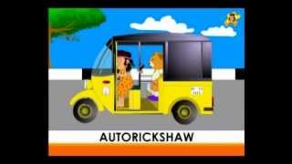 Preschool videos - Transport - vehicles I