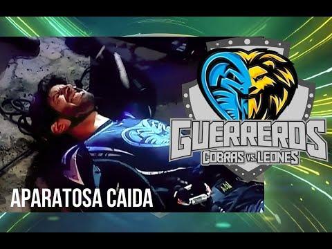 GUERREROS CANAL 1 - CAÍDA APARATOSA DE JUANSE