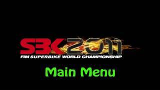 SBK 2011: FIM Superbike World Championship PC - Main Menu