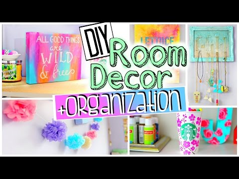 DIY Room Organization and Decorations   Spice up your room for 2015! JENerationDIY