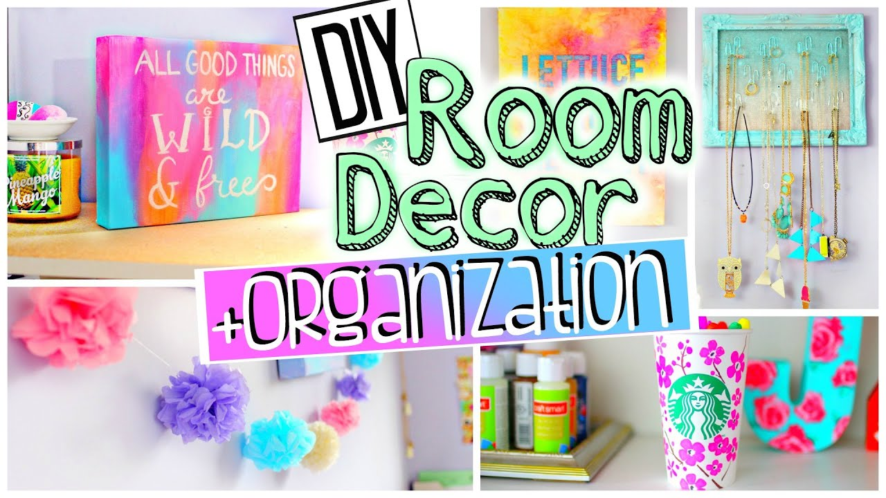 Diy room organization and decorations spice up your room for Room decoration products