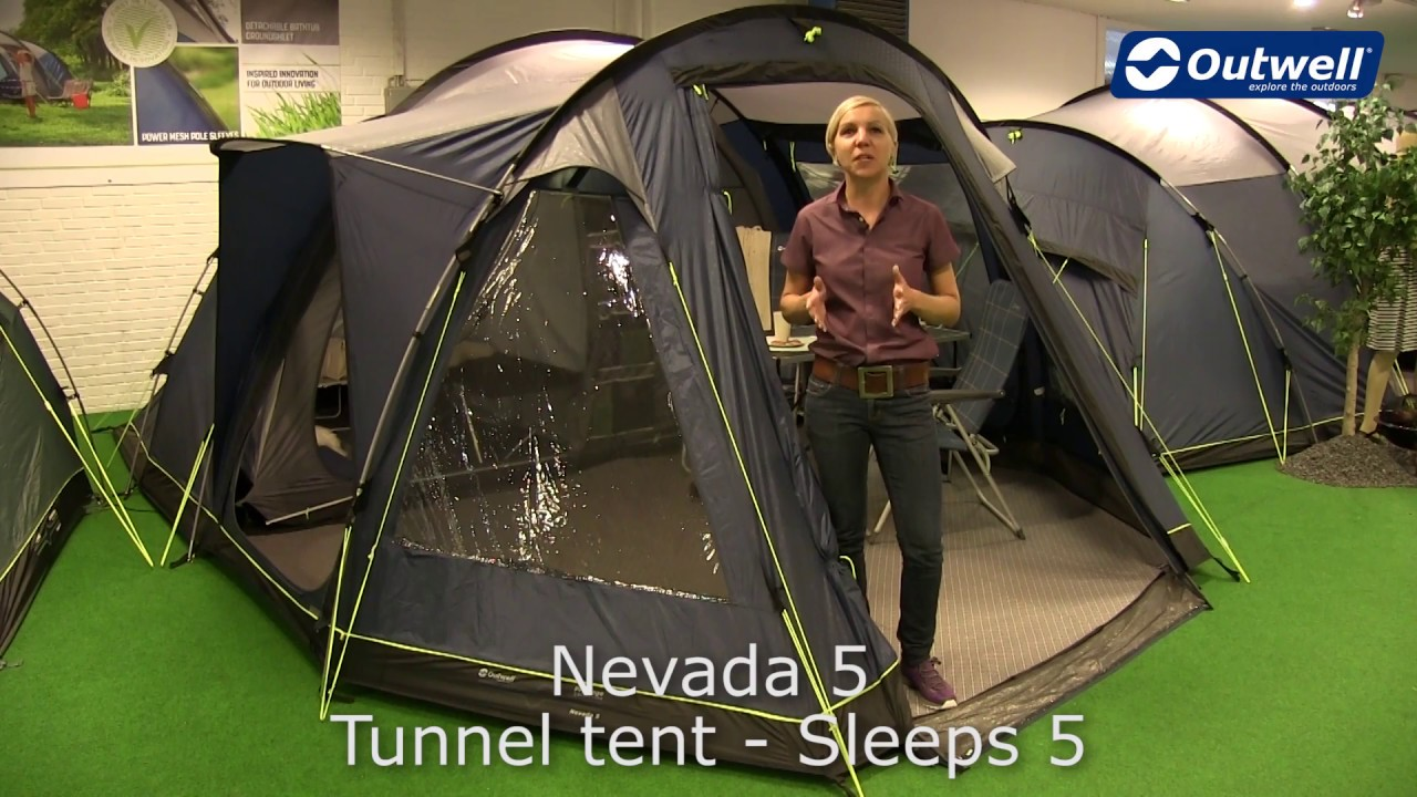 Outwell Nevada 5 Tent | Innovative Family C&ing  sc 1 st  YouTube & Outwell Nevada 5 Tent | Innovative Family Camping - YouTube