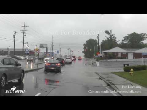 Cincinnati, Ohio - Flooding and Overturned Semi - May 24th, 2017