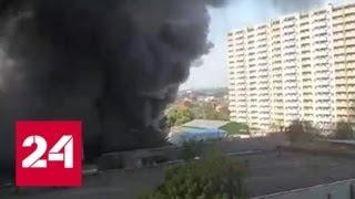 Крупный пожар потушен в Краснодаре - Россия 24