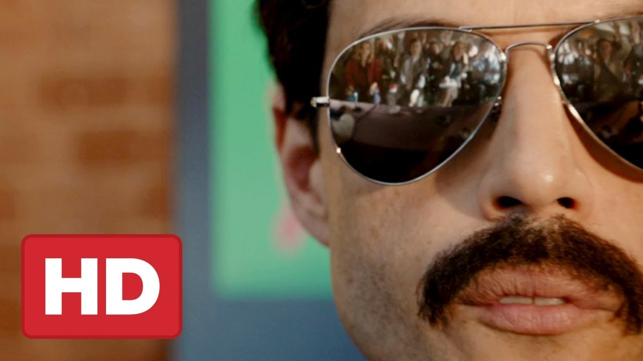 d6f52aab79a Bohemian Rhapsody Trailer (Freddie Mercury Movie) Rami Malek