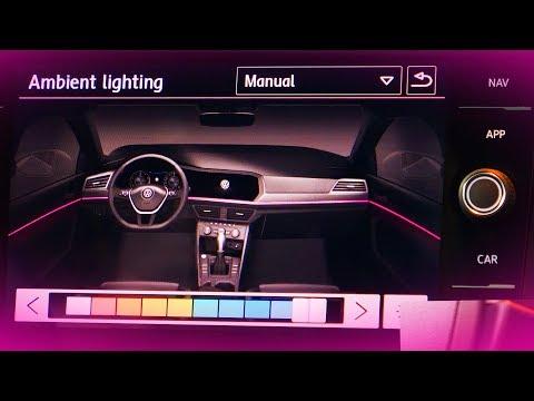 2019 Volkswagen Jetta - 10-color Ambient Interior Lighting Demo