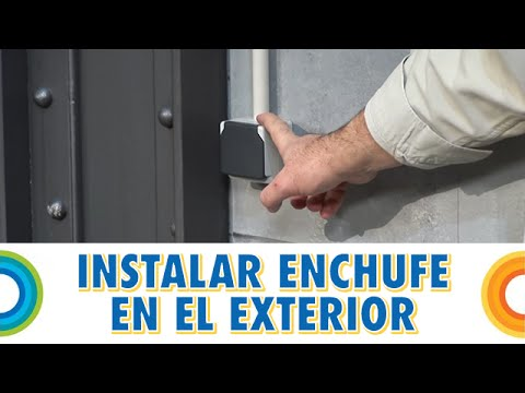 Instalar un enchufe en el exterior bricocrack youtube - Enchufe exterior estanco ...